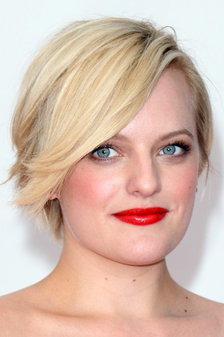 contrastant efuncional peinado corto