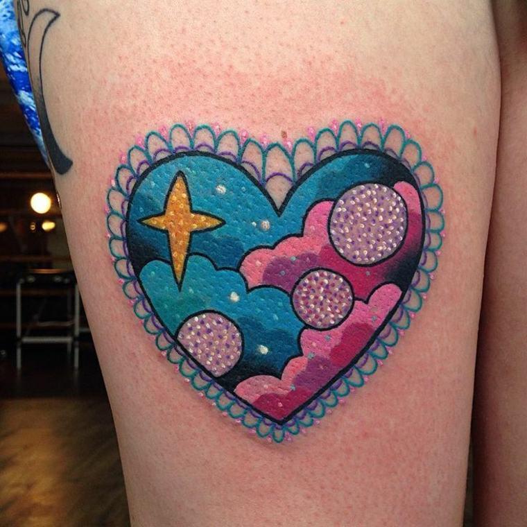 bonito tatuaje kawaii