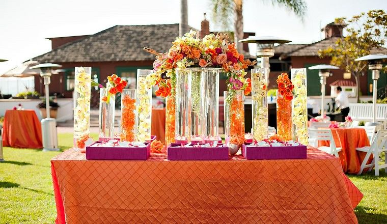decoracion-boda-color-naranja-estilo-moderno