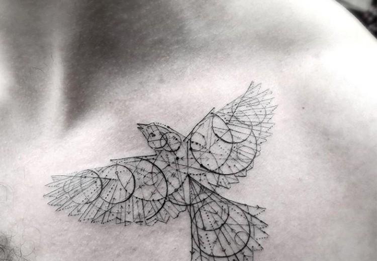 disenos-de-tatuajes-geometricos-filigrana-dr-woo-pajaro