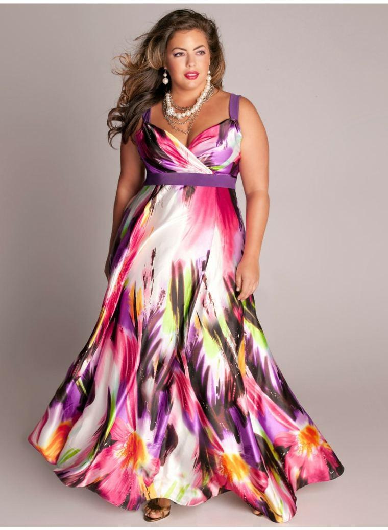 d5c347385a View in gallery divertido colorido vestido especial Vestidos de fiesta para  gorditas – las mejores ideas para estar a la moda ...