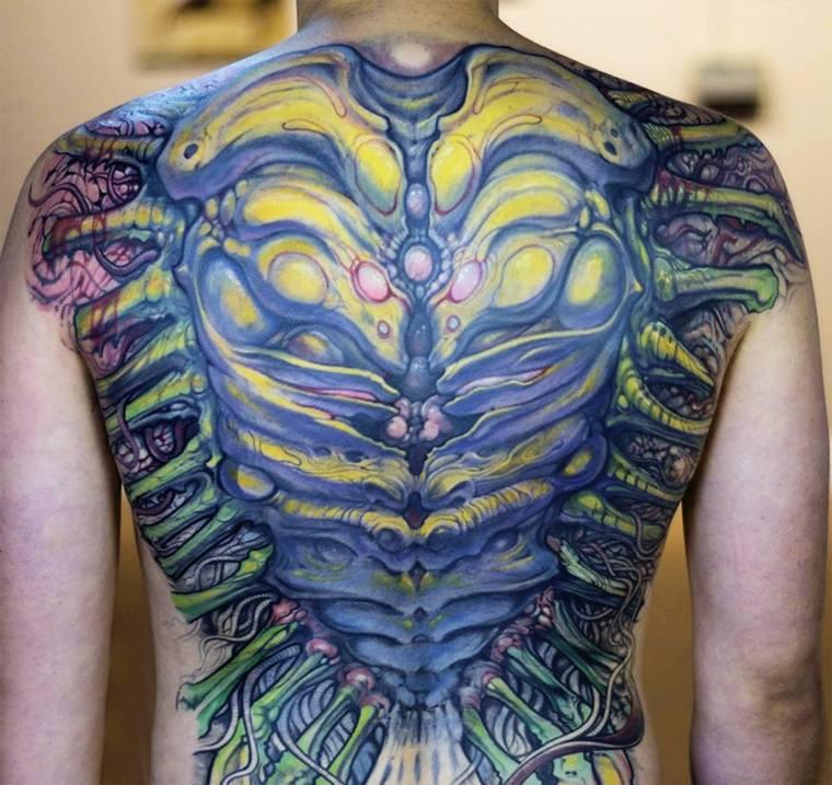 tatuajes originales de biomecánica