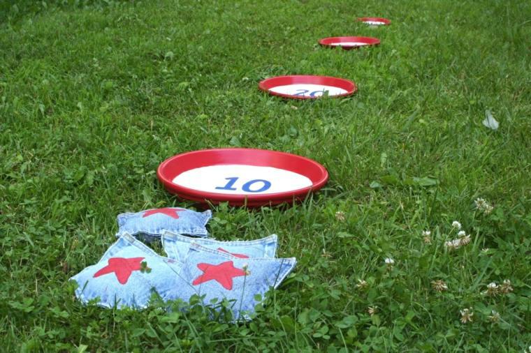 estrellas platos lanzados juegos