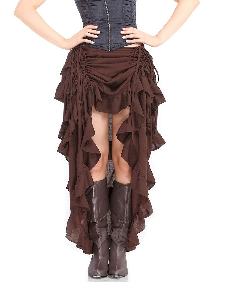 falda a la moda steampunk