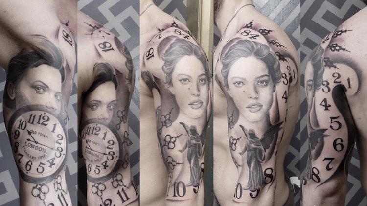 formas estilizadas tatuajes moda