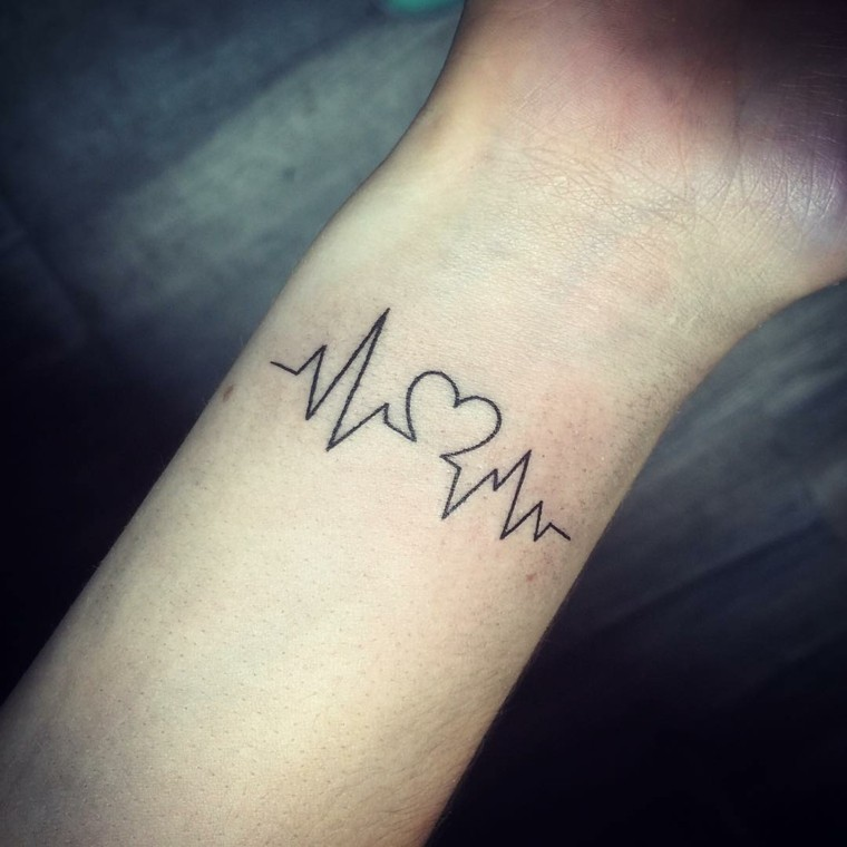 fotos de tatuajes-latido-corazon-muneca