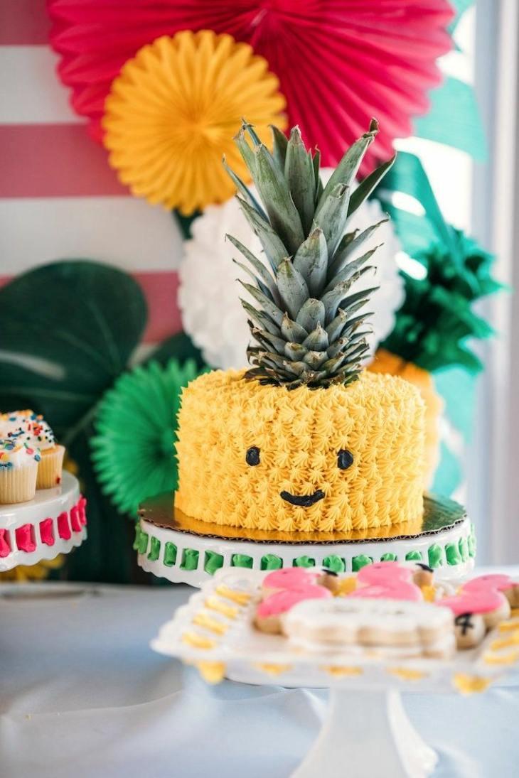 frutales divertidas tortas modernas
