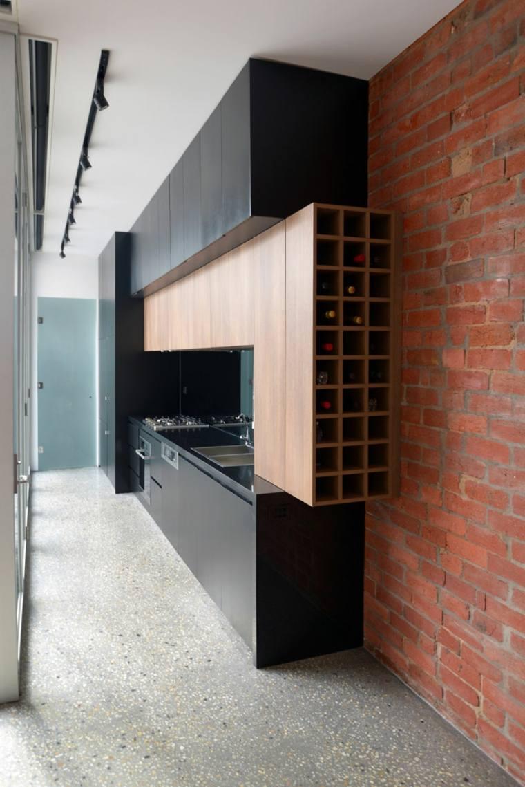 estantes para almacenamiento de vinos