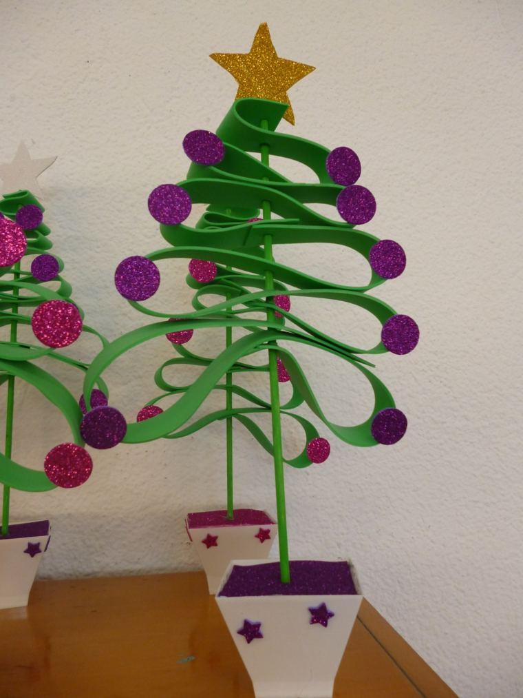 goma eva idea adornos navideños