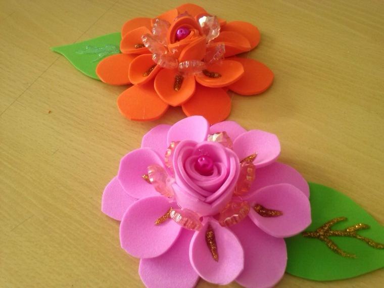 goma eva ideas artesanales simples