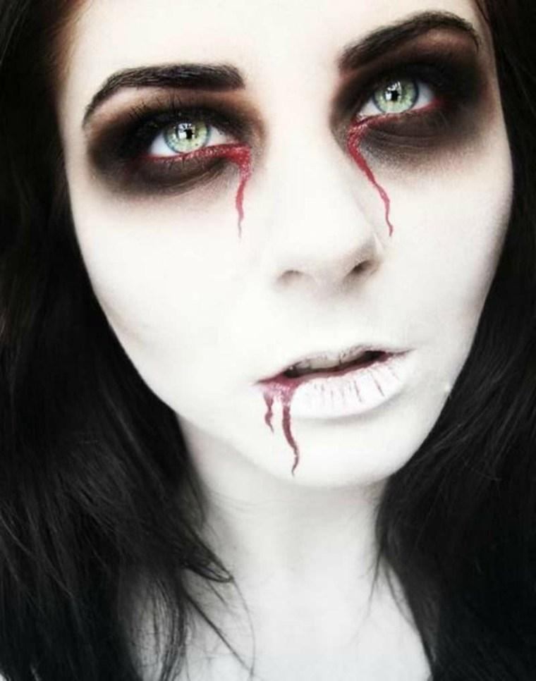 halloween maquillaje mujer