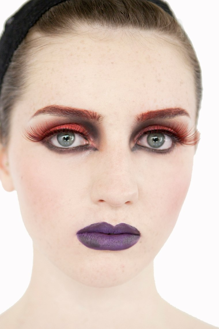 halloween maquillaje mujeres