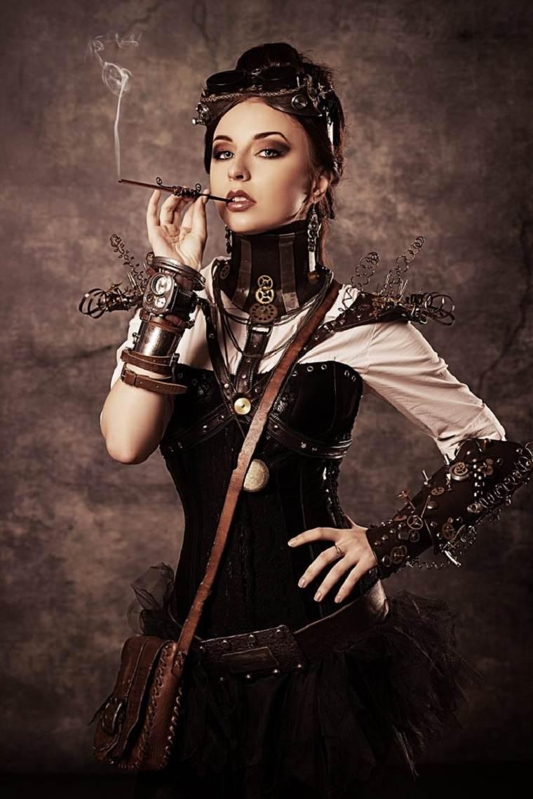 accesorios steampunk para mujer