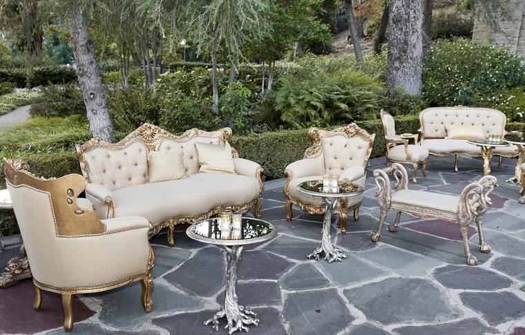 ideas originales para bodas un espacios de descanso para los invitados