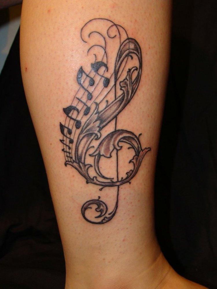 inspiracion musical tatuajes especiales