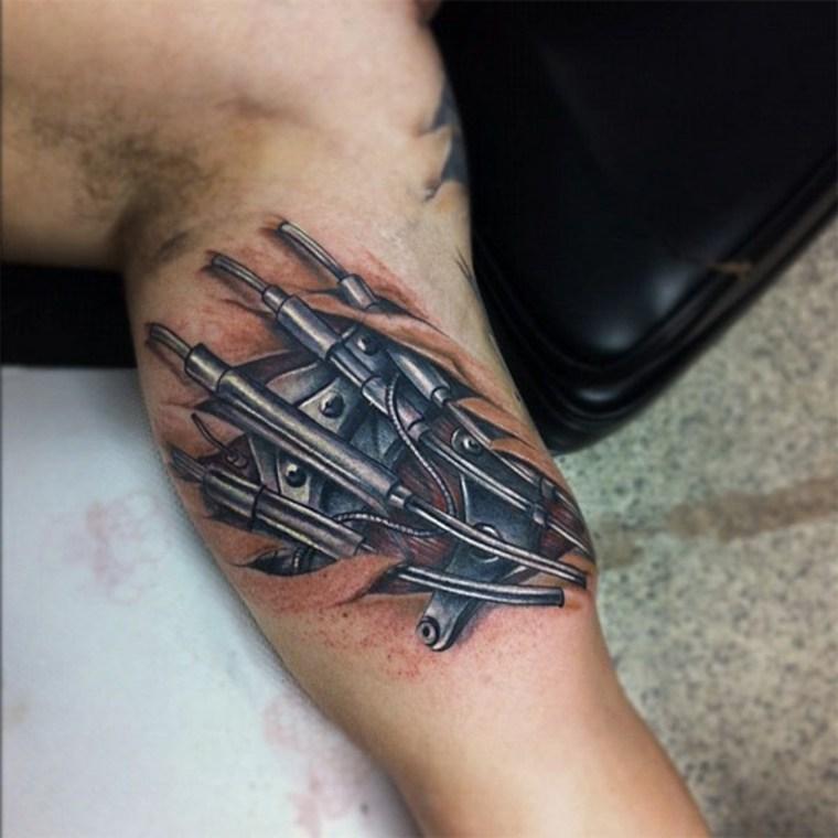 tatuaje mecánica