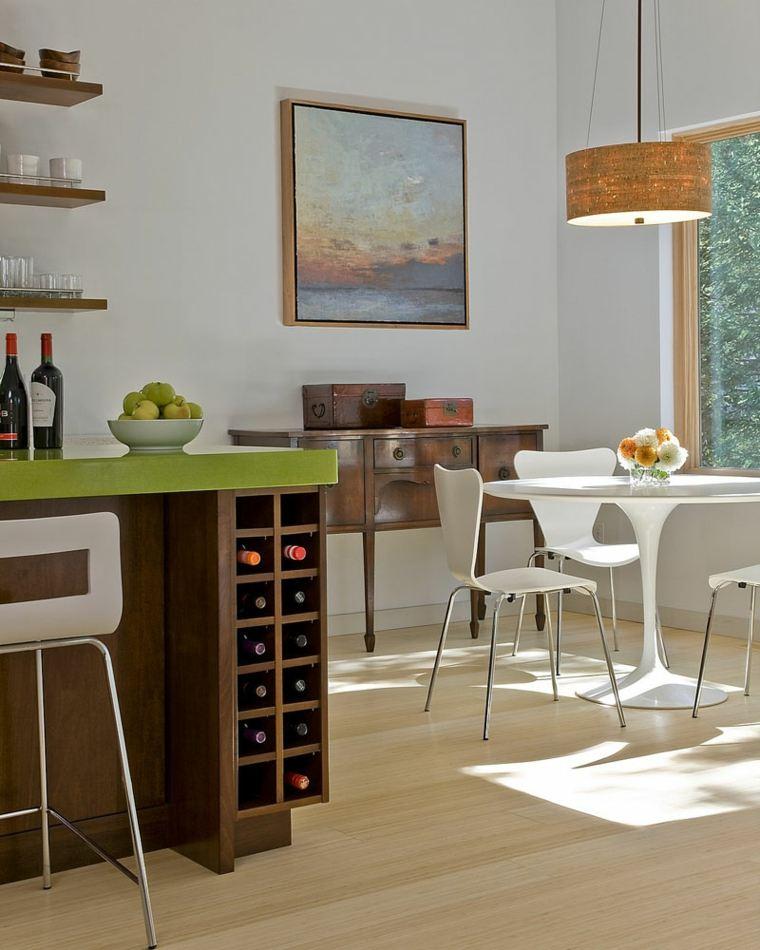 zona de almacenamiento para vinos