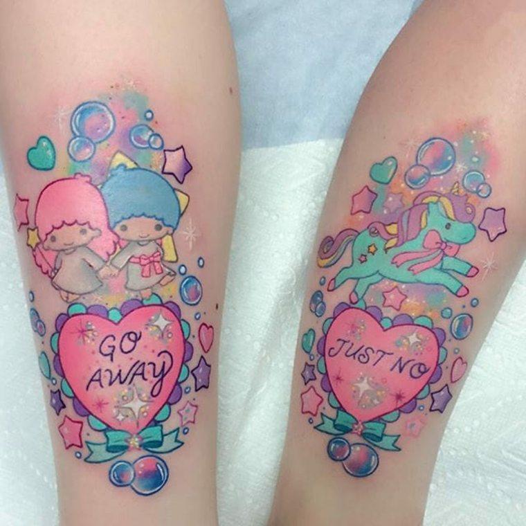 tatuaje kawaii