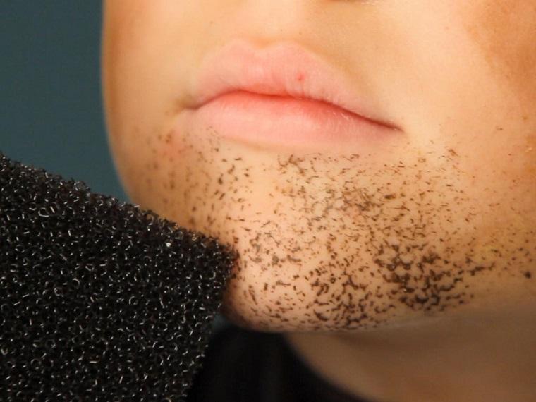 maquillaje Halloween niños-ideas-chico-barba