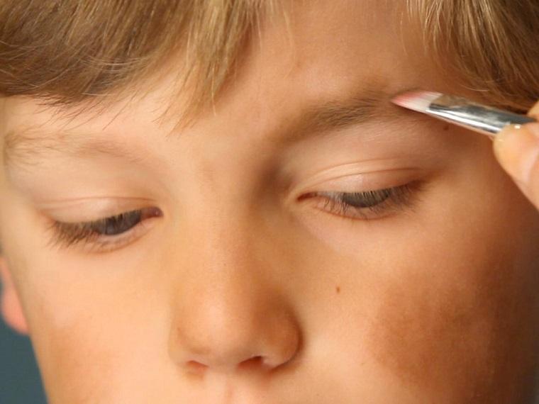 maquillaje Halloween niños-ideas-chico-moderno