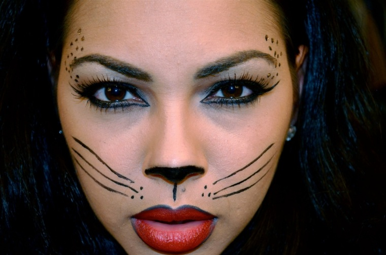maquillaje de halloween mujeres