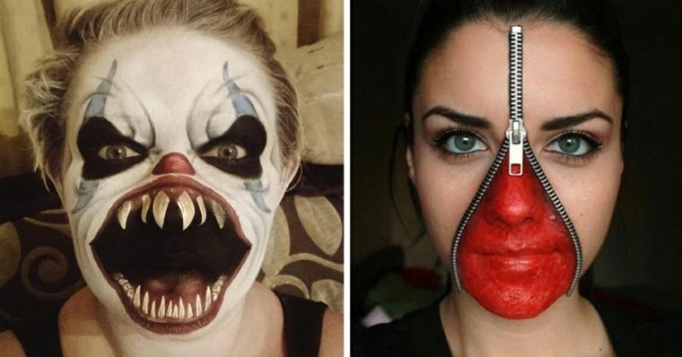 maquillaje de halloween para mujer original