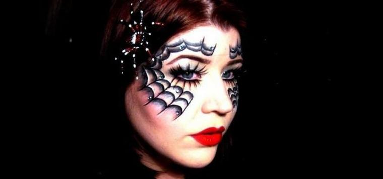 maquillaje de halloween para mujeres modernas