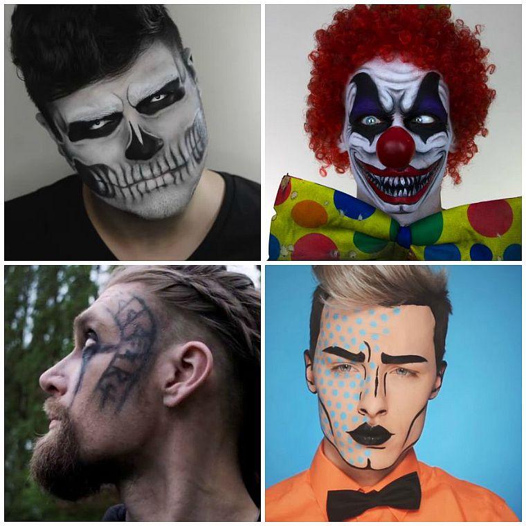 maquillaje halloween hombre-ideas