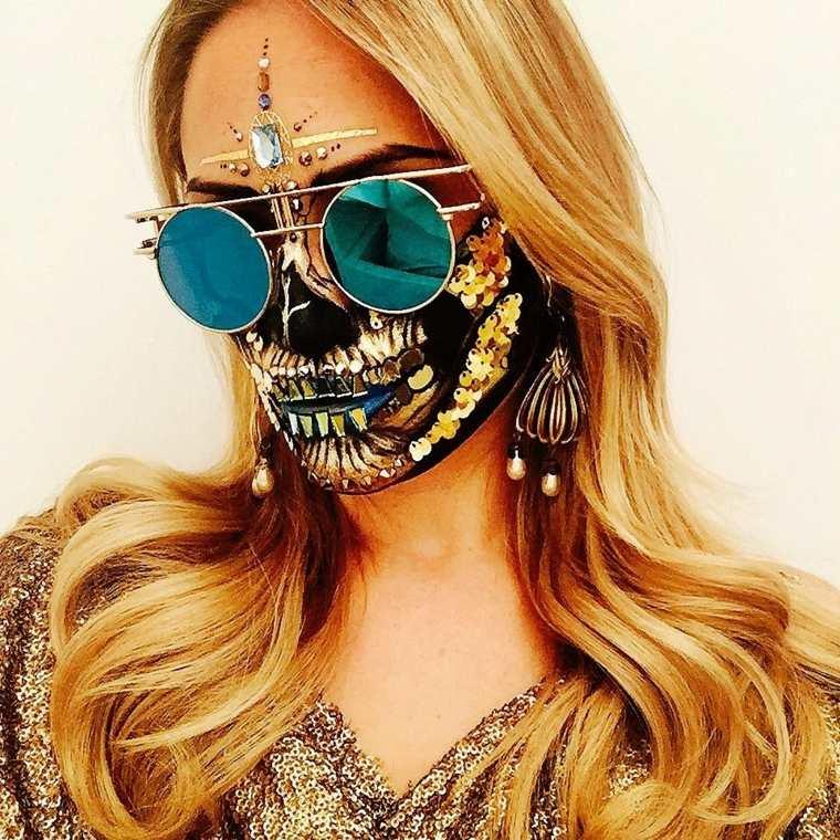 maquillaje halloween mujer moderna