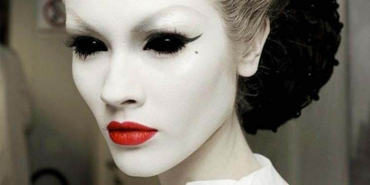 maquillaje halloween mujer original