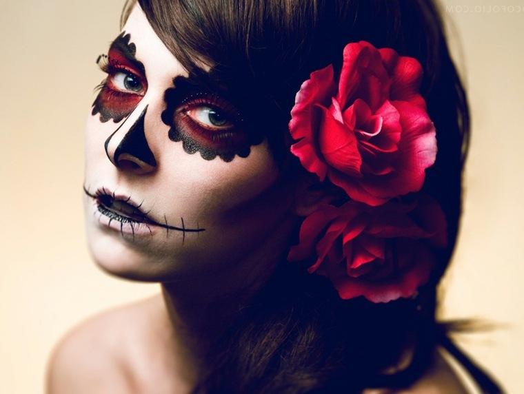 maquillaje halloween mujer zombie original