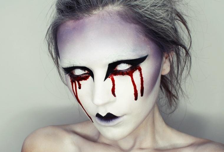 maquillaje halloween mujeres