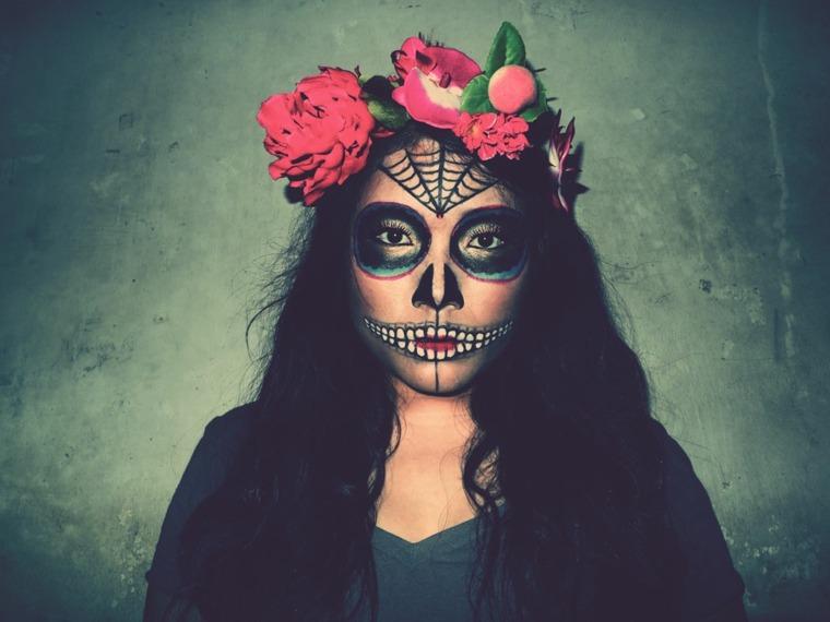 maquillaje halloween original mujeres