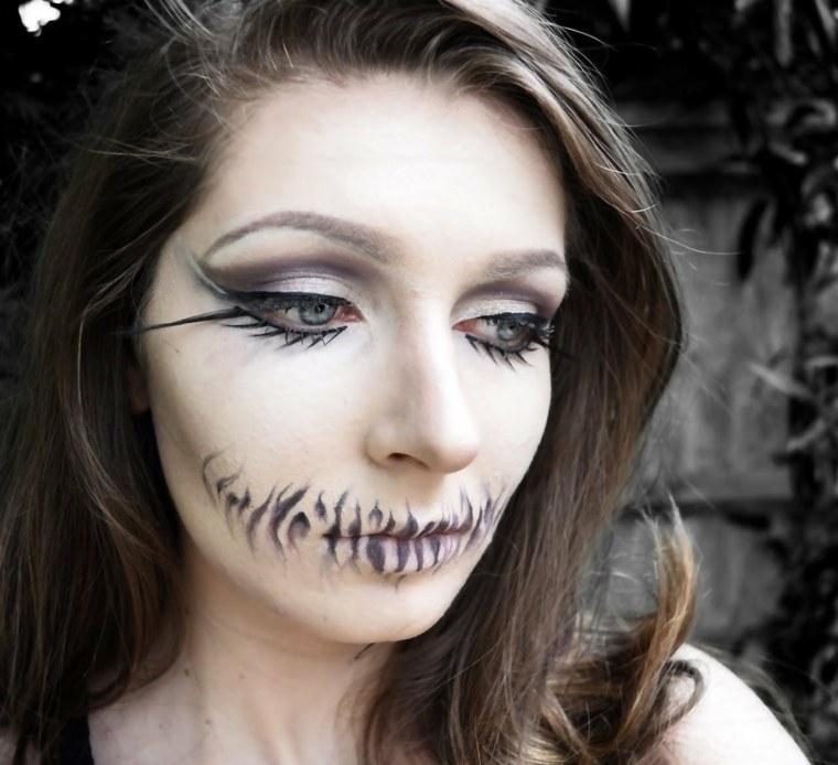 maquillaje hallowen mujeres muertas