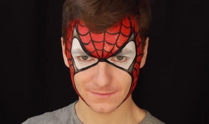 Maquillaje Halloween hombre ideas y tutoriales impresionantes ,