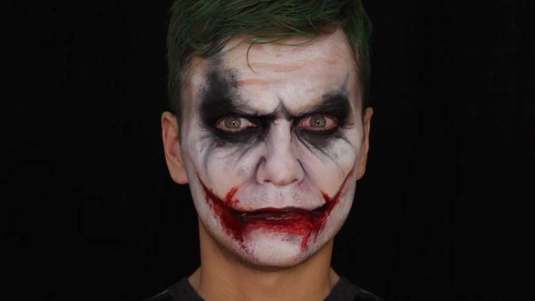 Maquillaje Halloween hombre ideas y tutoriales impresionantes