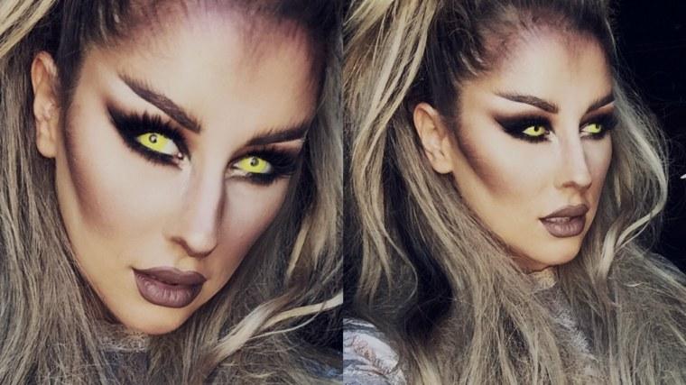 maquillaje mujer halloween