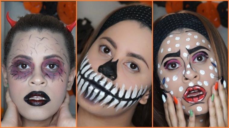 maquillaje para halloween mujer ideas