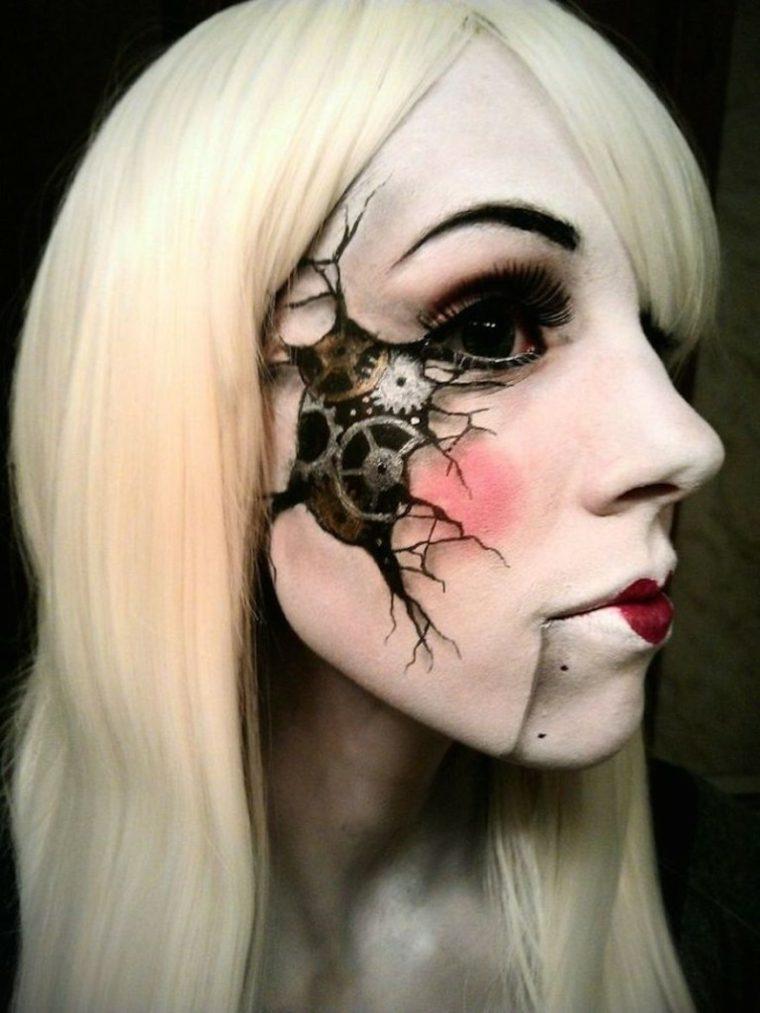 maquillaje para halloween mujeres