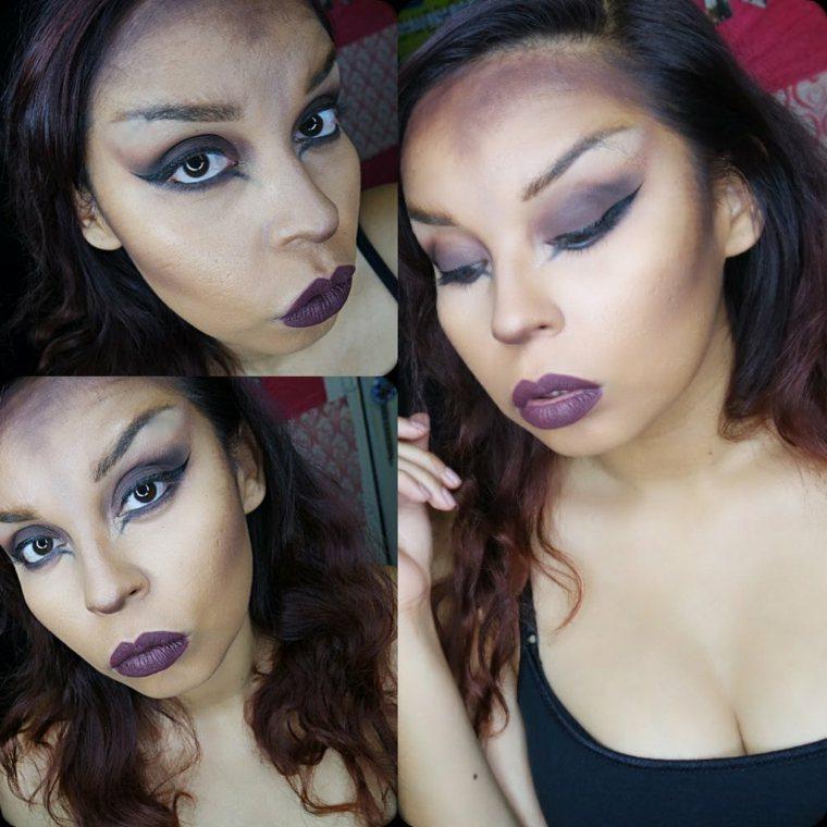maquillaje para halloween para mujer moderna