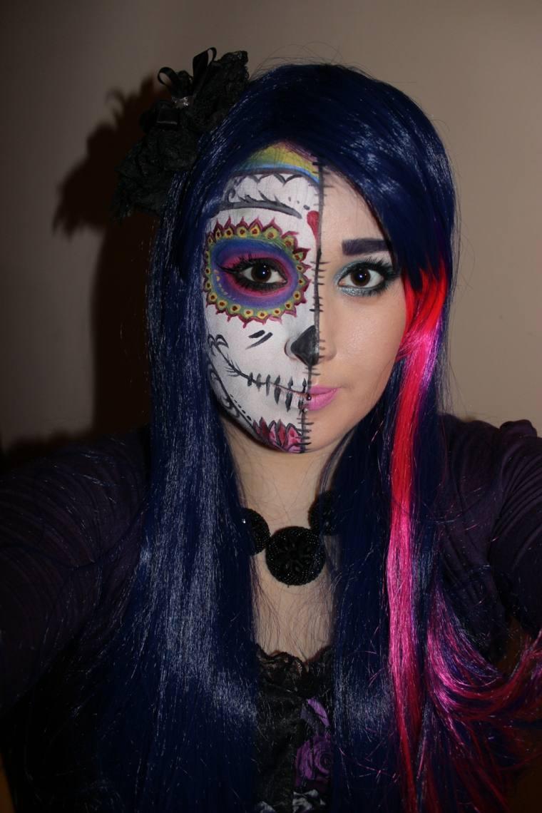 maquillajes de halloween mujeres