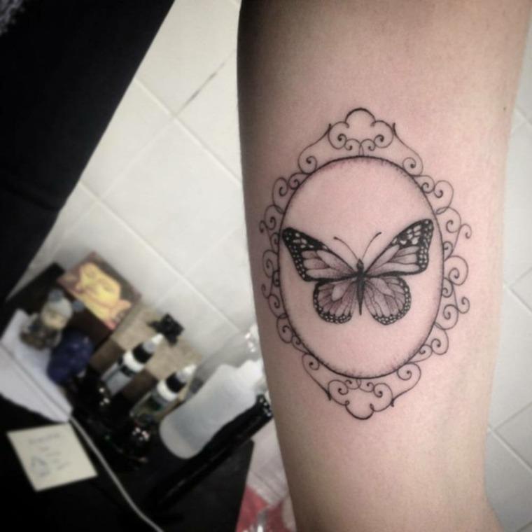 Tatuajes de mariposas - Significado y más de 40 fotos inspiradoras -