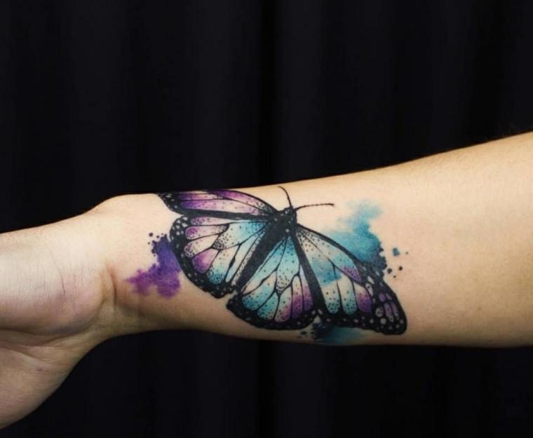 Tatuajes De Mariposas Significado Y Más De 40 Fotos Inspiradoras