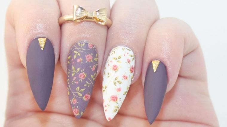 diseños de uñas-2017-opciones-estilo-moderno