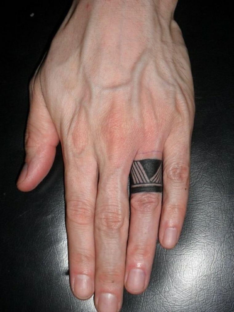 mejores-tatuajes-dedos-opciones-disenos-tribal
