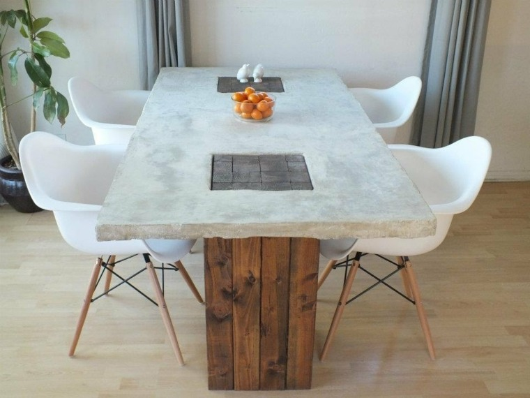 original diseño de mesa de comedor