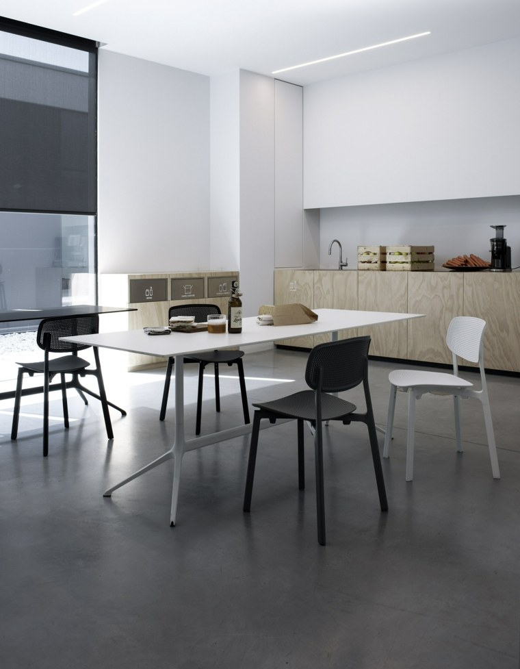 mesas cocina modernas-ELEPHANT-Kristalia