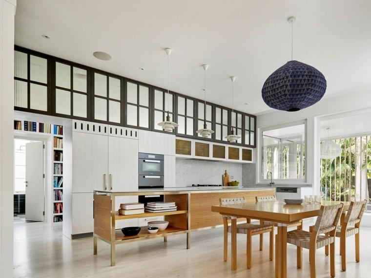 mesas cocina modernas-Luigi-Rosselli-Architects-Archives