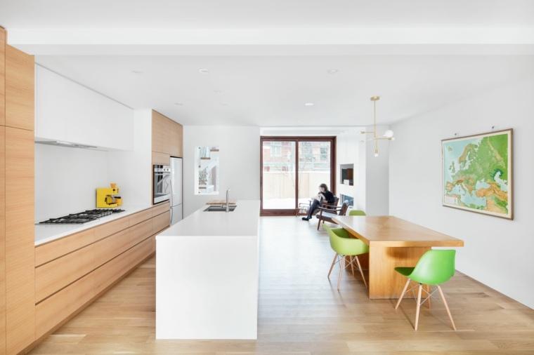 Mesas cocina modernas una gu a para elegir la mesa de la - Mesas cocina diseno ...