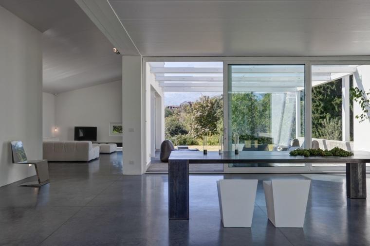 mesas cocina modernas-diseno-Federico-Delrosso-Architects